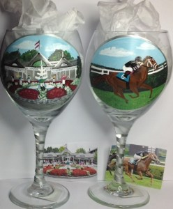 Custom Racing Wine Glasses