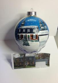 Hand Painted Christmas Ornament 6
