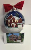 Hand Painted Christmas Ornament 3