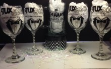 Logo Wine Glasses
