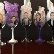 Portrait Wine Glasses