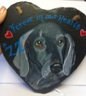Custom Dog Portrait Slate