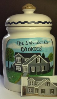 Custom Cookie Jar