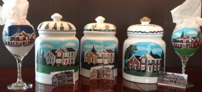 Custom House Cookie Jar