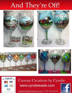 Custom Horse Racing Glasses
