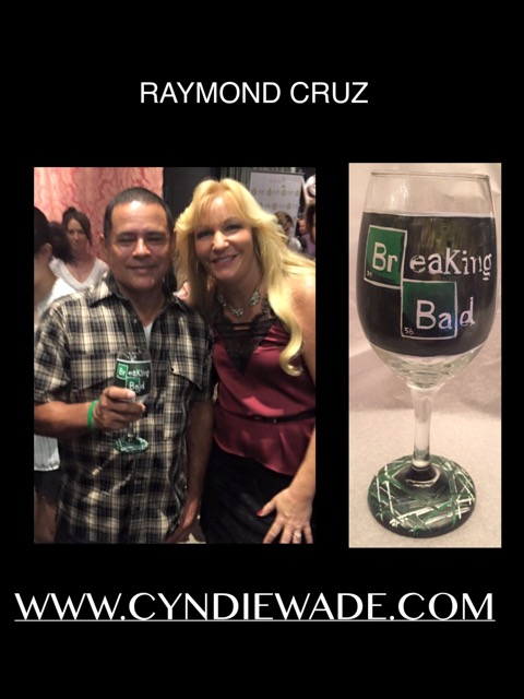 Hand Painted Glassware Raymond Cruz