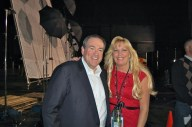 Mike Huckabee with Cyndie Wade