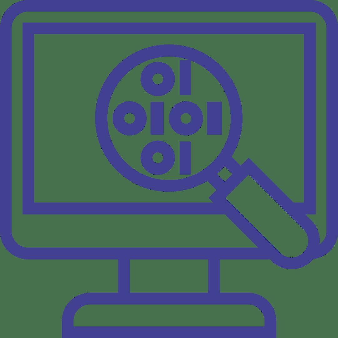 Inspecting Code Icon