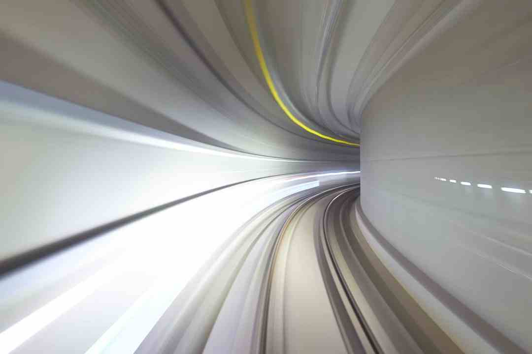 Tunnel Abstract Image