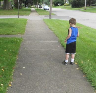 independent walk 001