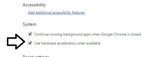 chrome-uncheck-acceleration
