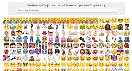 emoji-dictionary