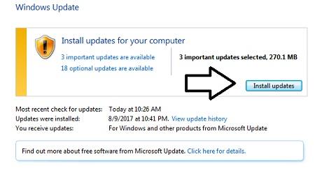 install-windows-updates