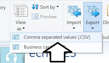 comma-separateed-value