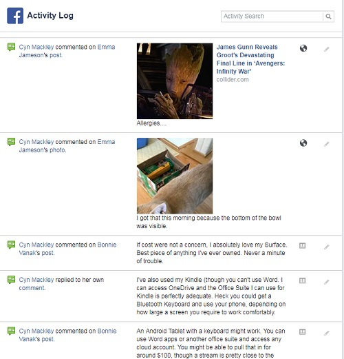 FB-activity-log