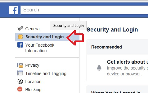 security-and-log-in