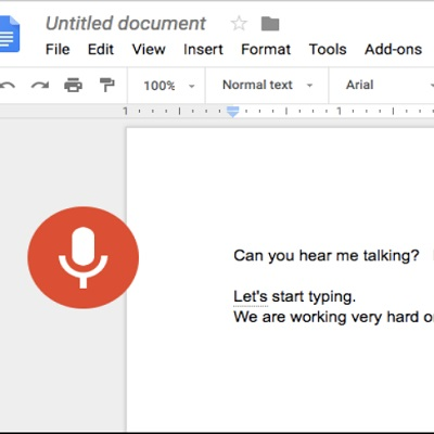 Speech to text in Google Docs – Cyn Mackley