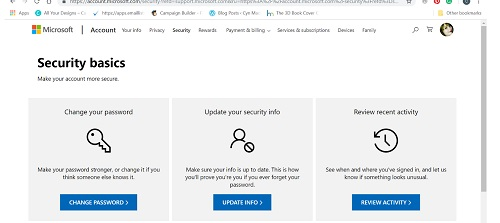 Secure your Microsoft account with two-factor authentication