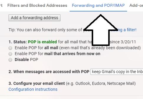 forwarding-pop