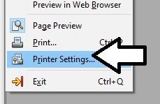 printer-settings