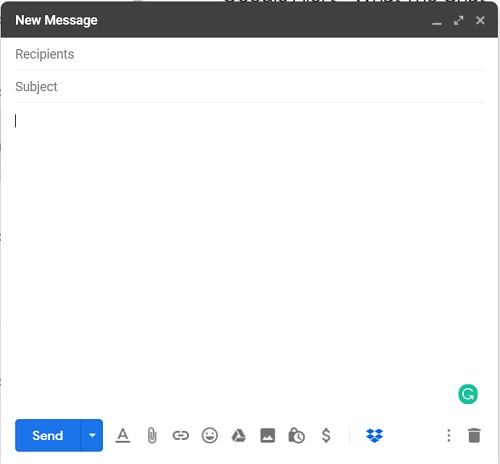 New-message-gmail