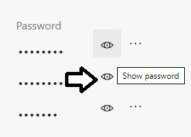 password-eye