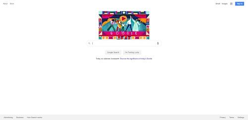 google-blank