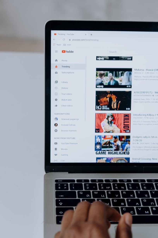 browsing youtube