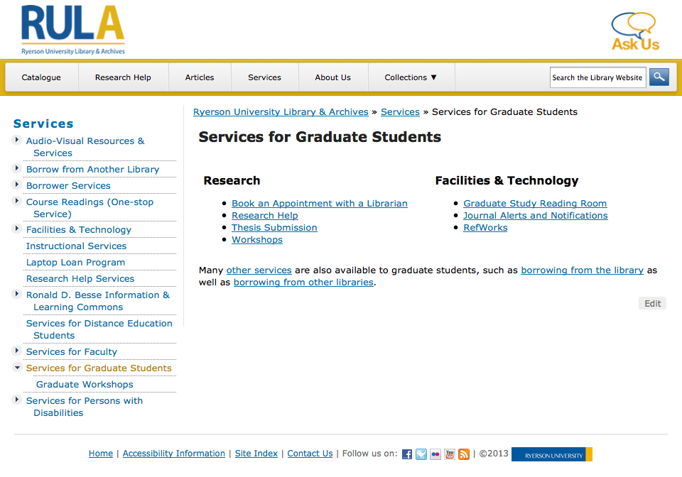 Services Redesign & Content Overhaul (3/6)