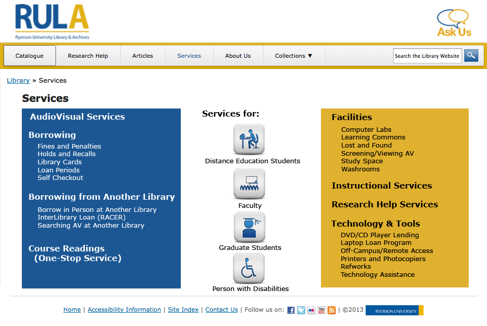 Services Redesign & Content Overhaul (5/6)
