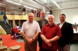 Sackville Concert Band members Tom Rusinak, Bradley Reid, Steve Rigden, Mike Johnston (L-R).