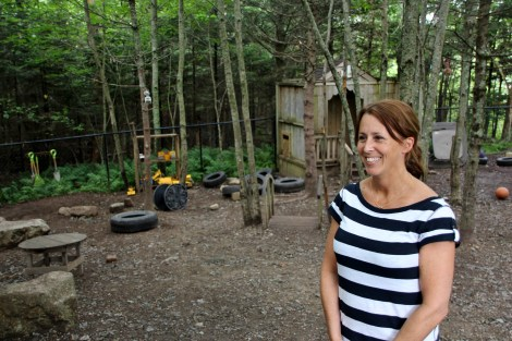 Angie Bryant, executive director of Fox Hollow Child Care Centre and Family Home Agency in Upper Tantallon created a fairyland oasis at Fox Hollow, filled with cosy corners, nooks and natural landscapes.