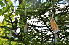 A simple shell windchime