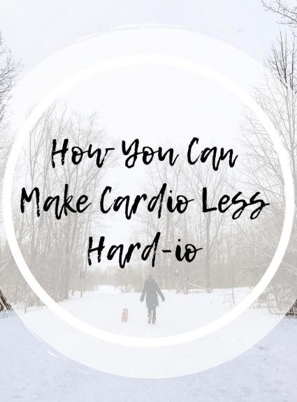 How You Can Make Cardio Less Hard-io