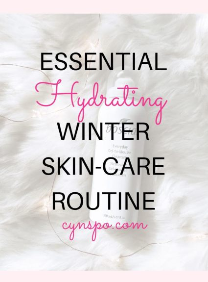 My Winter Skin-Care Routine
