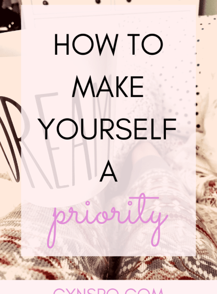 Your Best Year Yet: Making Yourself a Priority
