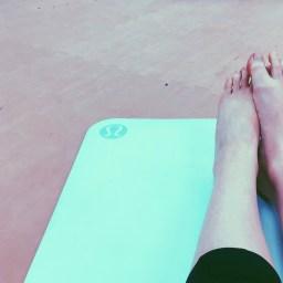 lululemon yoga mat. fitness. gym