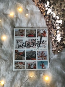flat lay. insta style, sequin pillow, twinkly lights, flat lay 5 Helpful Things I Bought to Kickstart My Blog