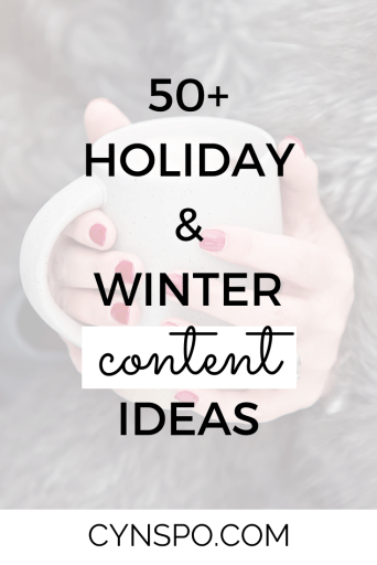 50+ Holiday & Winter Content Ideas. Woman with red nails holding white coffee cup. wearing fur jacket.