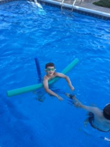 Andrew - barbecue swim