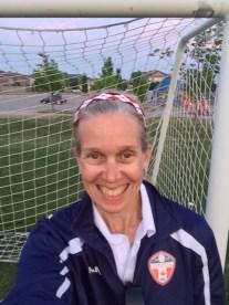 Mom - soccer coach