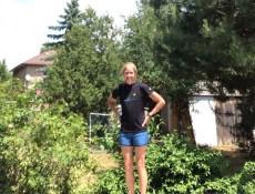 Short shorts - front