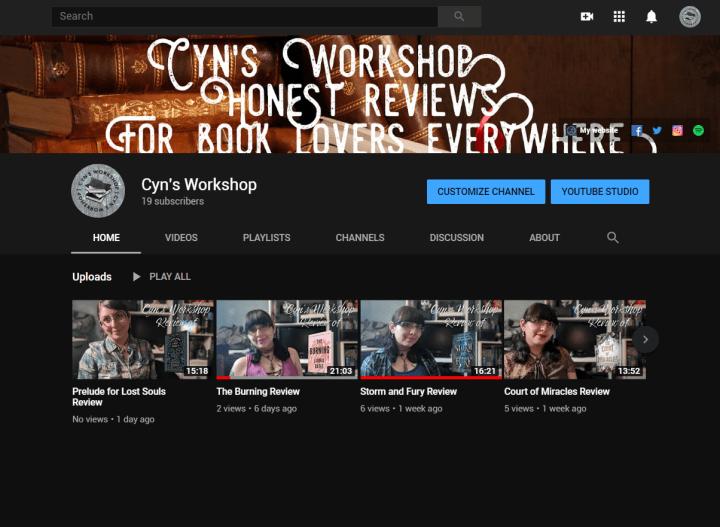 cyn's workshop youtube
