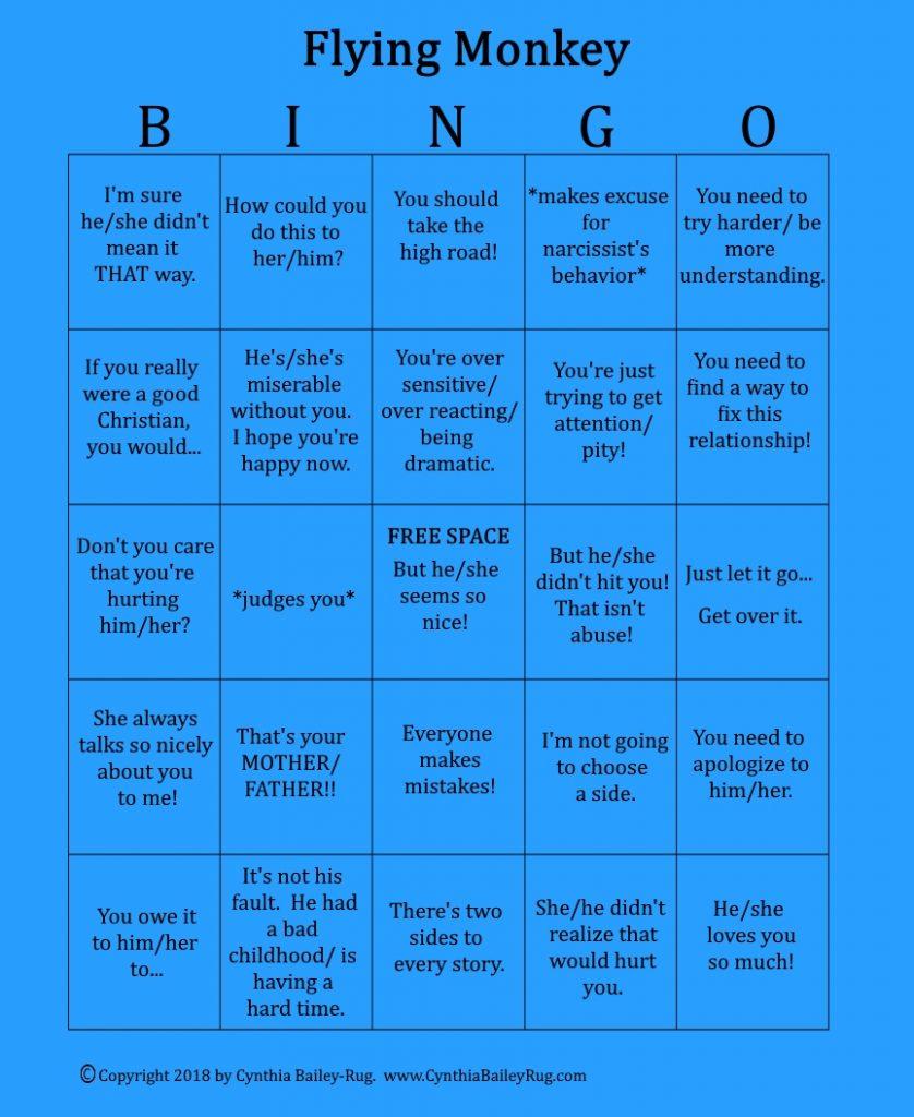 Flying Monkey Narcissist Meme : flying, monkey, narcissist, Cynthia's, Memes, About, Narcissistic, Personality, Disorder, Cynthia, Bailey-Rug