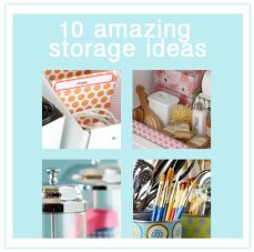 10 Creative  Storage Ideas