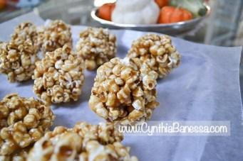 Yummy Caramel Popcorn Balls