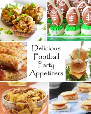 Delicious Football Party Appetizers