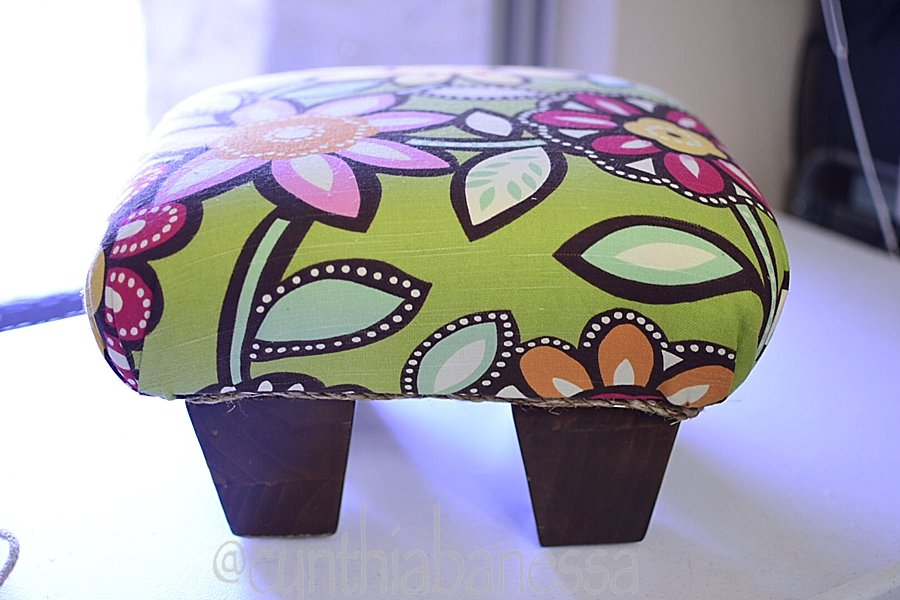 12 by 12 footstool diy