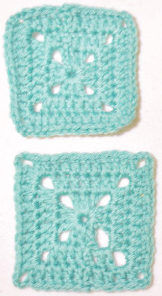 unblocked and blocked granny square