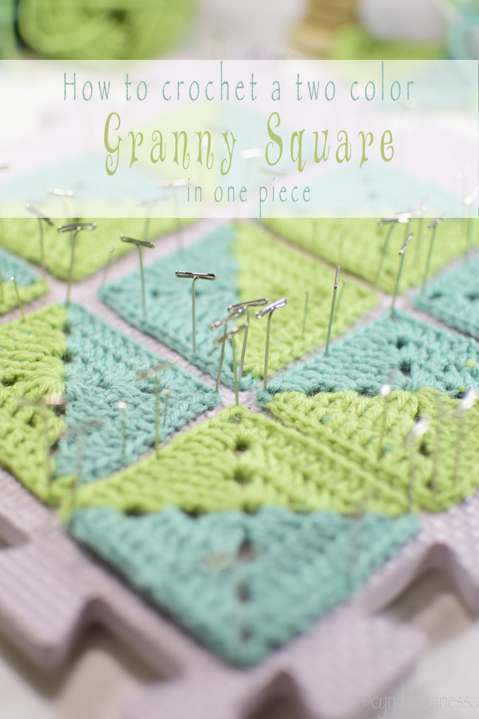 Two sided granny square Intro pic